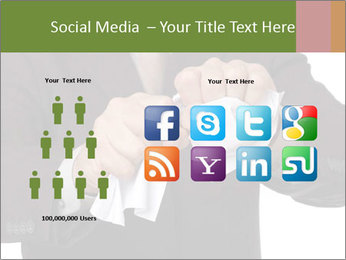 Angry businessman PowerPoint Template - Slide 5
