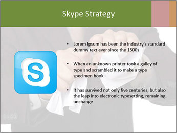 Angry businessman PowerPoint Template - Slide 8