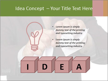 Angry businessman PowerPoint Template - Slide 80