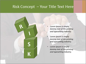 Angry businessman PowerPoint Template - Slide 81