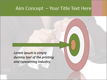 Angry businessman PowerPoint Template - Slide 83