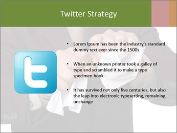 Angry businessman PowerPoint Template - Slide 9
