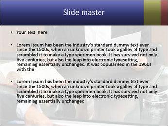 Female lawyer PowerPoint Template - Slide 2