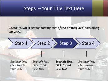 Female lawyer PowerPoint Template - Slide 4