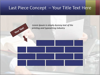 Female lawyer PowerPoint Template - Slide 46
