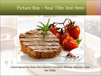 Baked pheasant PowerPoint Template - Slide 15