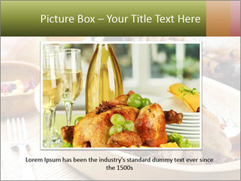Baked pheasant PowerPoint Template - Slide 16