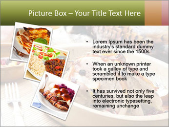 Baked pheasant PowerPoint Template - Slide 17