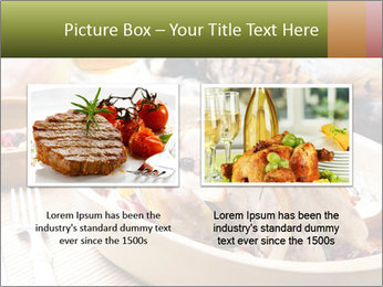 Baked pheasant PowerPoint Template - Slide 18