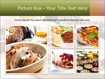 Baked pheasant PowerPoint Template - Slide 19