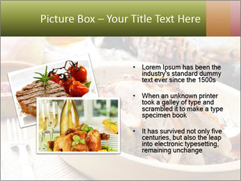 Baked pheasant PowerPoint Template - Slide 20