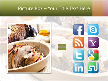 Baked pheasant PowerPoint Template - Slide 21