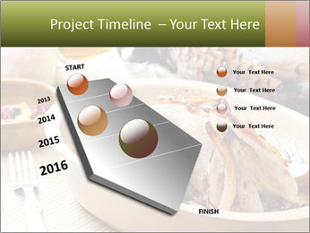 Baked pheasant PowerPoint Template - Slide 26