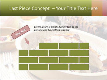 Baked pheasant PowerPoint Template - Slide 46