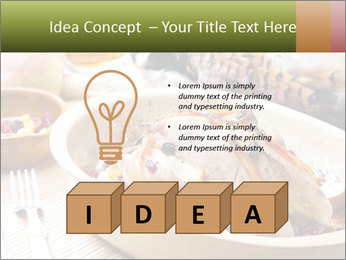 Baked pheasant PowerPoint Template - Slide 80