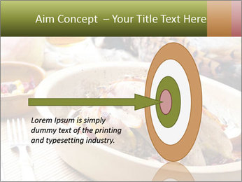 Baked pheasant PowerPoint Template - Slide 83