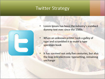 Baked pheasant PowerPoint Template - Slide 9