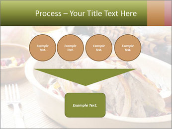 Baked pheasant PowerPoint Template - Slide 93