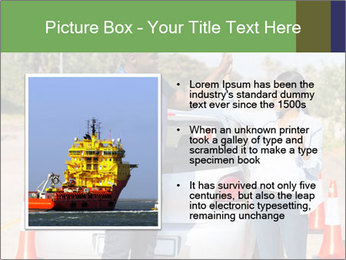 The instructor congratulates PowerPoint Template - Slide 13
