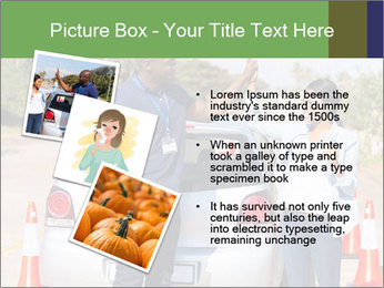 The instructor congratulates PowerPoint Template - Slide 17
