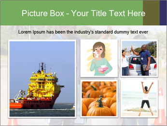 The instructor congratulates PowerPoint Template - Slide 19