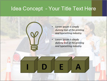 The instructor congratulates PowerPoint Template - Slide 80