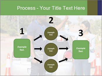 The instructor congratulates PowerPoint Template - Slide 92
