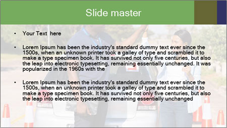 The instructor congratulates PowerPoint Template - Slide 2