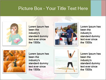 Girl is sick PowerPoint Template - Slide 14