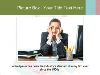 Girl is sick PowerPoint Template - Slide 16
