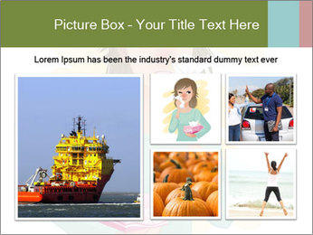 Girl is sick PowerPoint Template - Slide 19