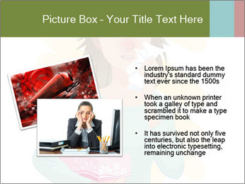 Girl is sick PowerPoint Template - Slide 20