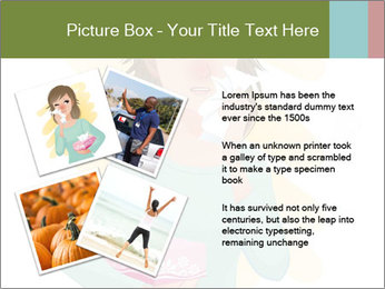 Girl is sick PowerPoint Template - Slide 23
