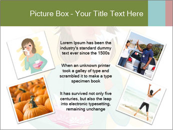 Girl is sick PowerPoint Template - Slide 24