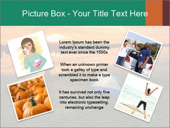 The tourist tin sunset PowerPoint Template - Slide 24