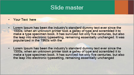The tourist tin sunset PowerPoint Template - Slide 2
