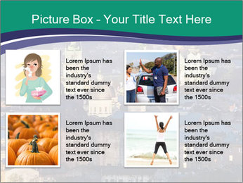 Beautiful evening city PowerPoint Template - Slide 14