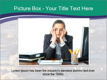 Beautiful evening city PowerPoint Template - Slide 16