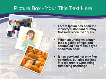 Beautiful evening city PowerPoint Template - Slide 17