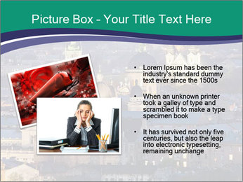 Beautiful evening city PowerPoint Template - Slide 20