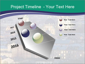 Beautiful evening city PowerPoint Template - Slide 26