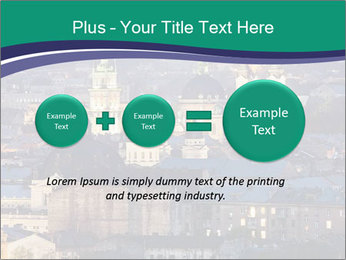 Beautiful evening city PowerPoint Template - Slide 75