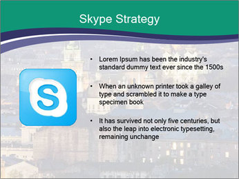 Beautiful evening city PowerPoint Template - Slide 8