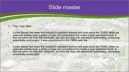 Kind of city PowerPoint Template - Slide 2