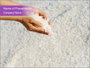Sand through the fingers PowerPoint Template
