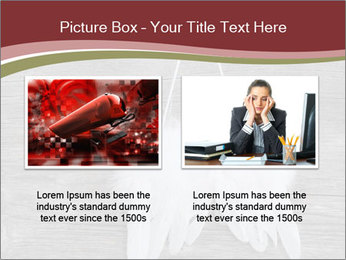 Decorative feathers PowerPoint Template - Slide 18