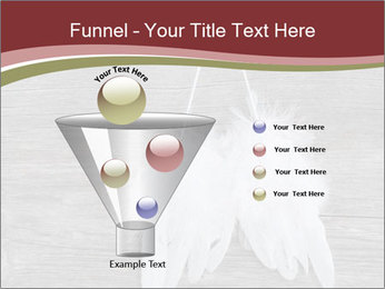 Decorative feathers PowerPoint Template - Slide 63