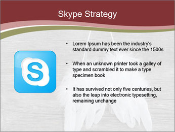 Decorative feathers PowerPoint Template - Slide 8