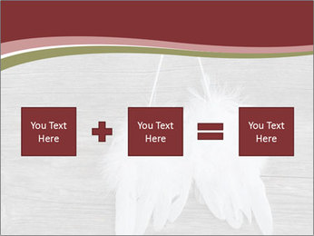 Decorative feathers PowerPoint Template - Slide 95