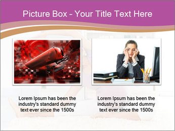 A pregnant girl PowerPoint Template - Slide 18